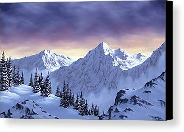 Snow Scene Landscape Paintings Limited Time Promotions