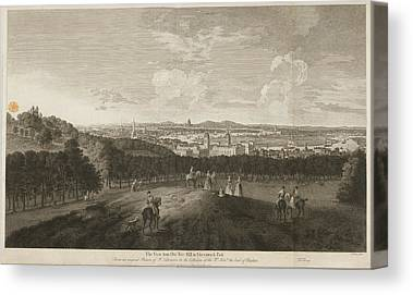 Royal Naval College Canvas Prints