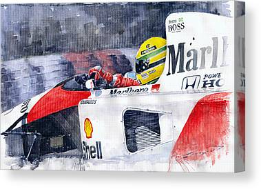 Automotive Art Canvas Prints