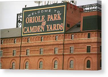 Oriole Park Canvas Prints