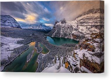 Canadian Rockies Canvas Prints
