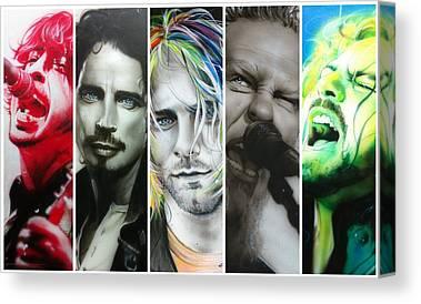 Pearl Jam Canvas Prints