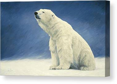 Polar Bear Canvas Prints