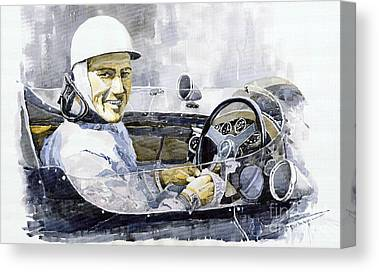Stirling Moss Canvas Prints