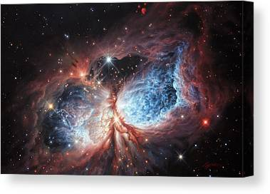 Stellar Stars Nursery Canvas Prints