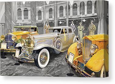Collector Car Canvas Prints