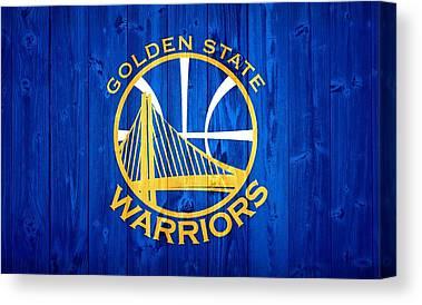 Golden State Warriors Canvas Prints