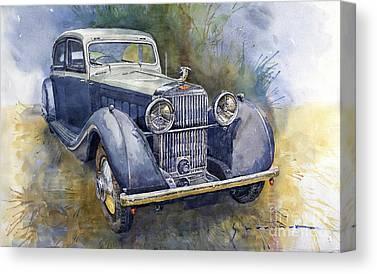 Hispano Suiza Canvas Prints