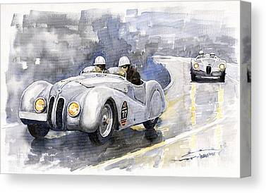 Cabriolet Canvas Prints