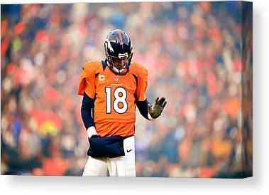 Peyton Manning Canvas Prints