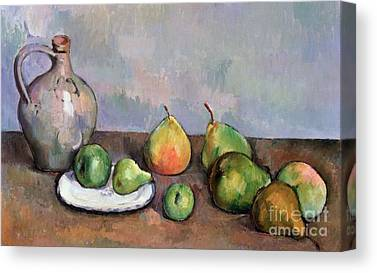 Still Life With Pitcher Canvas Prints