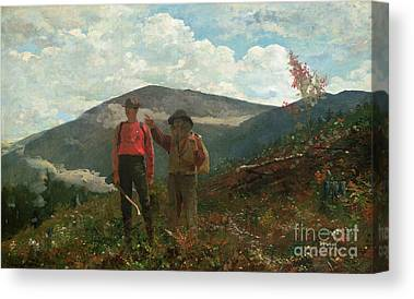Woodsmen Canvas Prints