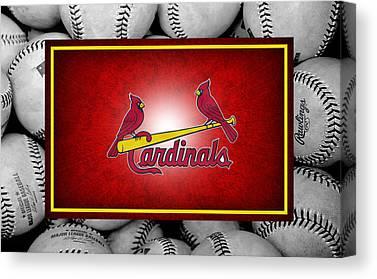 St. Louis Cardinals Canvas Prints