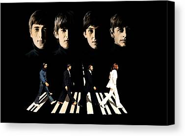 John Lennon Lithographs Drawings Canvas Prints
