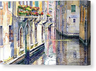 Midday Paintings Canvas Prints