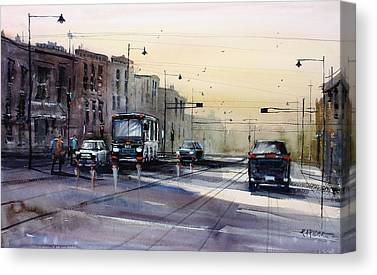 Street Scenes Canvas Prints