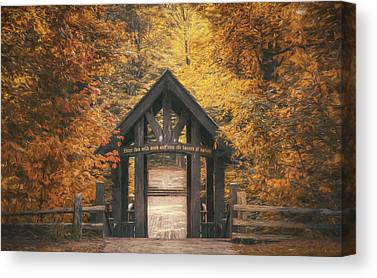 Entrances Photographs Canvas Prints