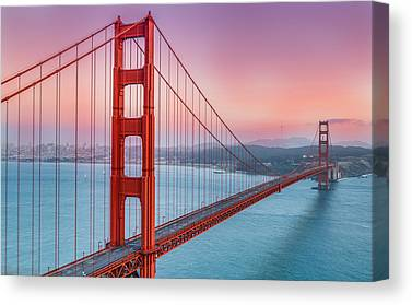 Sausalito Canvas Prints