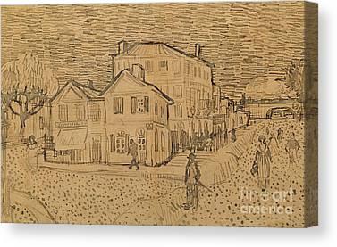 Vincent Drawings Canvas Prints