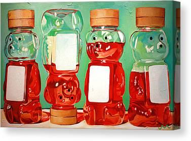 Honey Canvas Prints