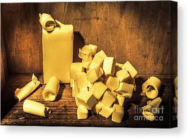 Margarine Canvas Prints