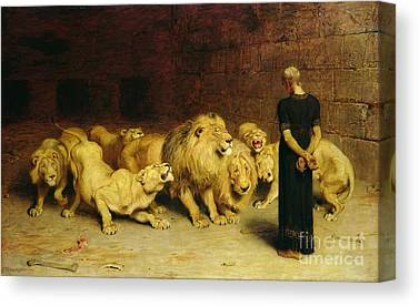 Briton Riviere Canvas Prints