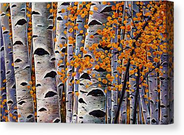 Colorado Paintings Canvas Prints