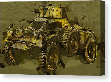 Armored Fighting Vehicles Canvas Prints