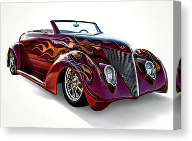 Ford Roadster Canvas Prints