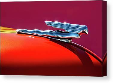 Car Mascot Canvas Prints