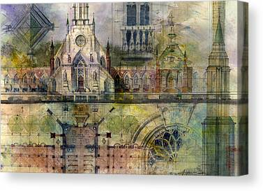 Classical Architecture Canvas Prints