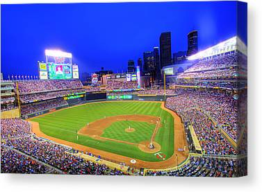 Target Field Canvas Prints