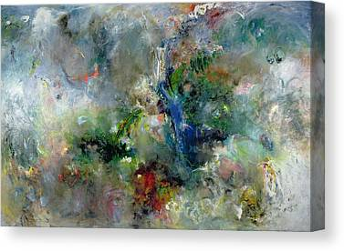 Non-objective Paintings Canvas Prints