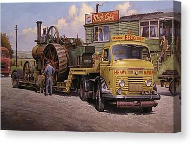 Transportart Canvas Prints
