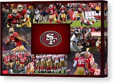 San Francisco 49ers Canvas Prints