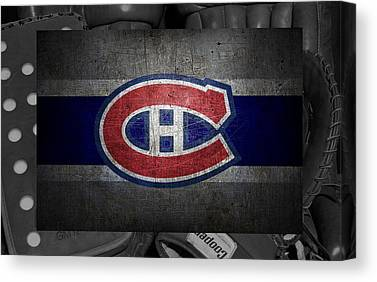 Montreal Hockey Canvas Prints