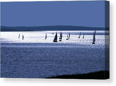 Water Front Canvas Prints