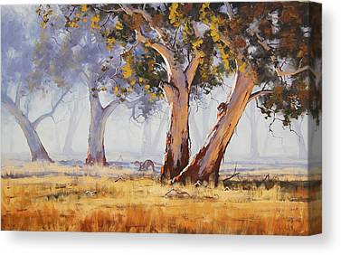 Tree Paintings Canvas Prints