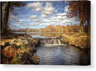 Belmont Lake State Park Canvas Prints