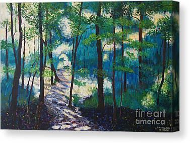 Percy Warner Parks Canvas Prints