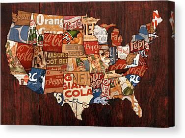 Dr. Pepper Canvas Prints