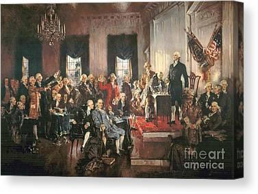 Constitutional Convention Canvas Prints