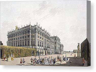 Austria Drawings Canvas Prints