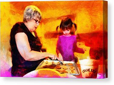 Bonding Mixed Media Canvas Prints