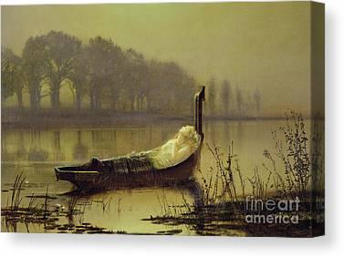 John Boats Canvas Prints