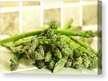 Asparagus Canvas Prints