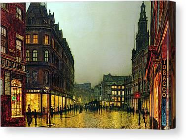 Boar Lane Canvas Prints