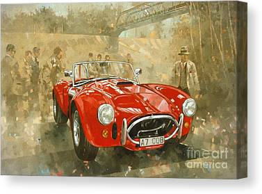 Race Cars Canvas Prints