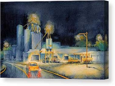 Feed Mill Canvas Prints