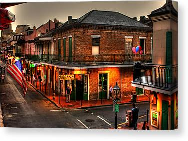 French Quarter Canvas Prints